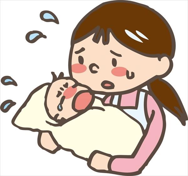 熱が出て下痢になっている時に考えられる赤ちゃんの病気