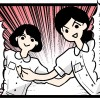 週刊ママ・マンガ「恋する産後ダイエット(仮)」第五話:受け止めるのも、愛 (物理)
