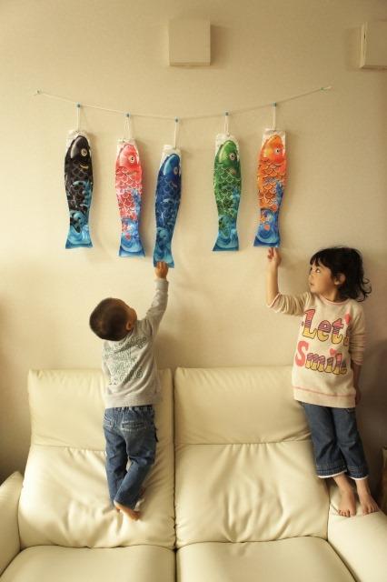 意外と簡単!鯉のぼりをお子さんと一緒に手作りする4つのコツ