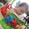 赤ちゃんが狂喜乱舞して跳ねまわると噂の「ジャンパルー」を買ってみた!